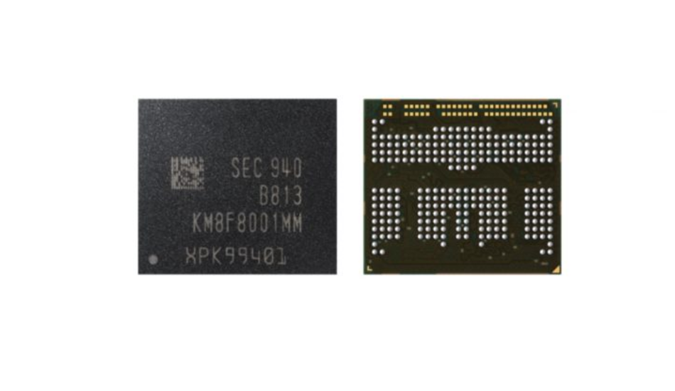 Samsung 12GB LPDDR4X + eUFS 3.0 multi-chip package