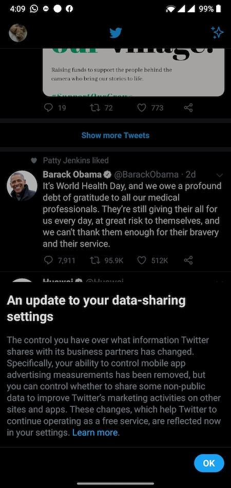 Twitter لمشاركة البيانات الشخصية مع المعلنين: ماذا يعني ذلك للمستخدمين؟ 1