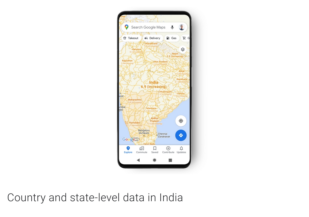 Google Maps now shows you COVID-19 stats
