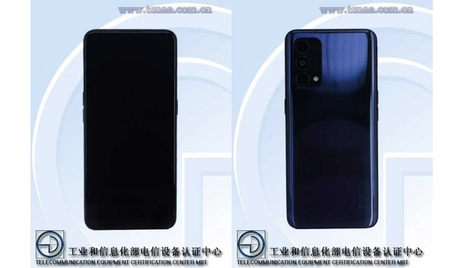 TENAA adds Oppo Reno5 Pro 5G images and camera specs