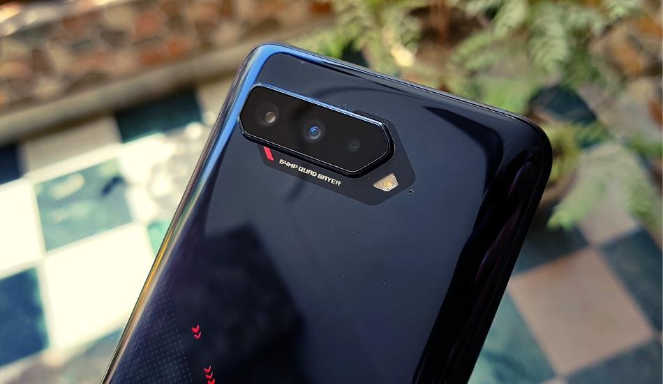 ROG Phone 5 cameras