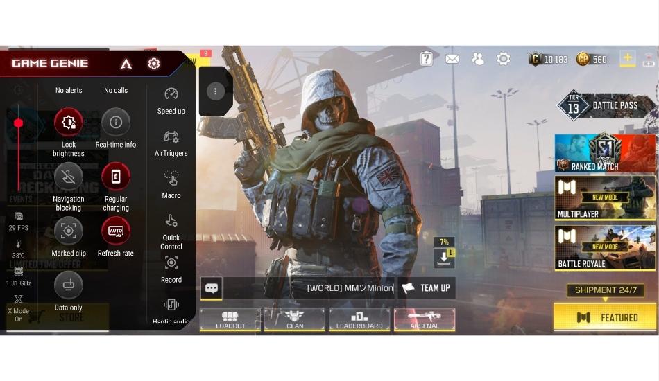 Asus ROG Phone 5 gaming