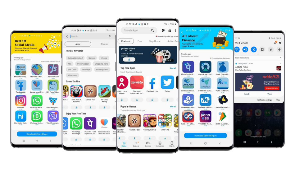 Exclusive: Indus App Bazaar to be featured in upcoming Indian smartphones