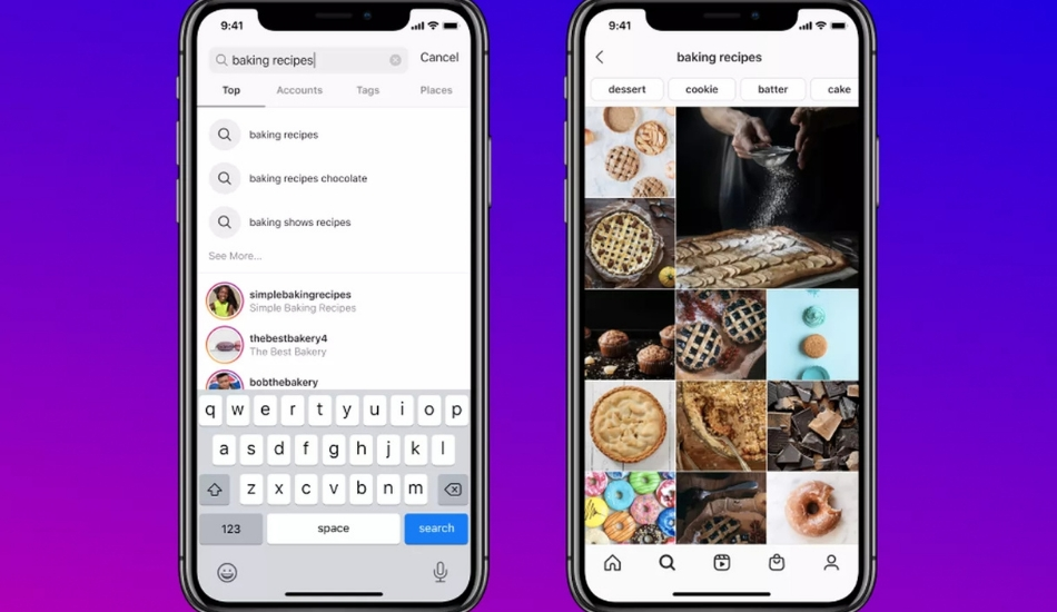 Instagram enables 'Keyword Search', Guides feature available for all users now