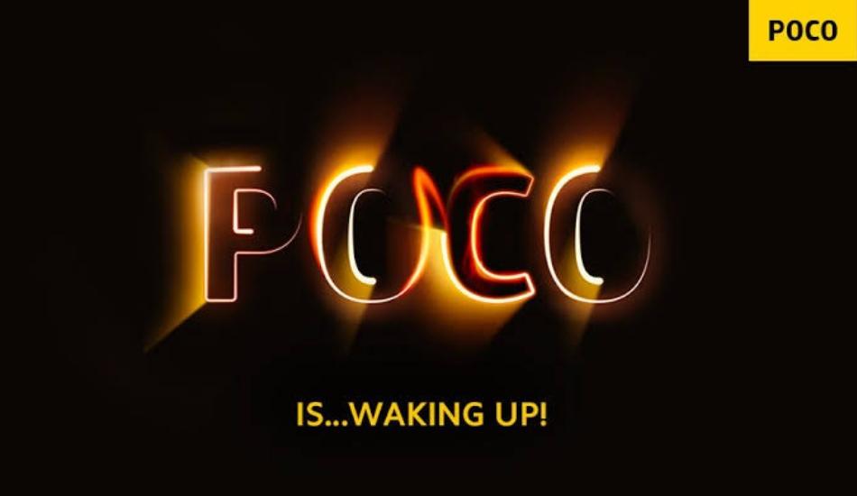 Poco Global Independent, Poco India Sub Brand of Xiaomi India