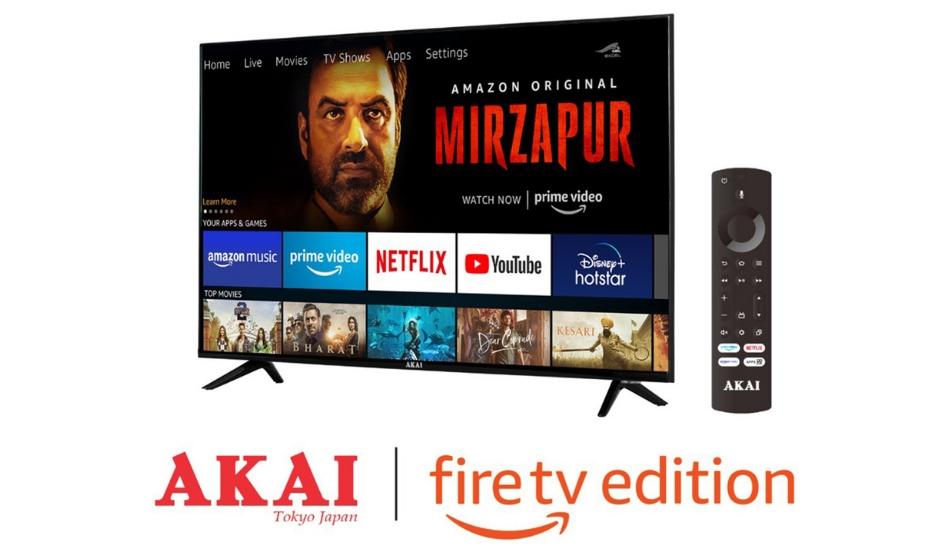 AKAI launches Amazon FireTV Edition TVs