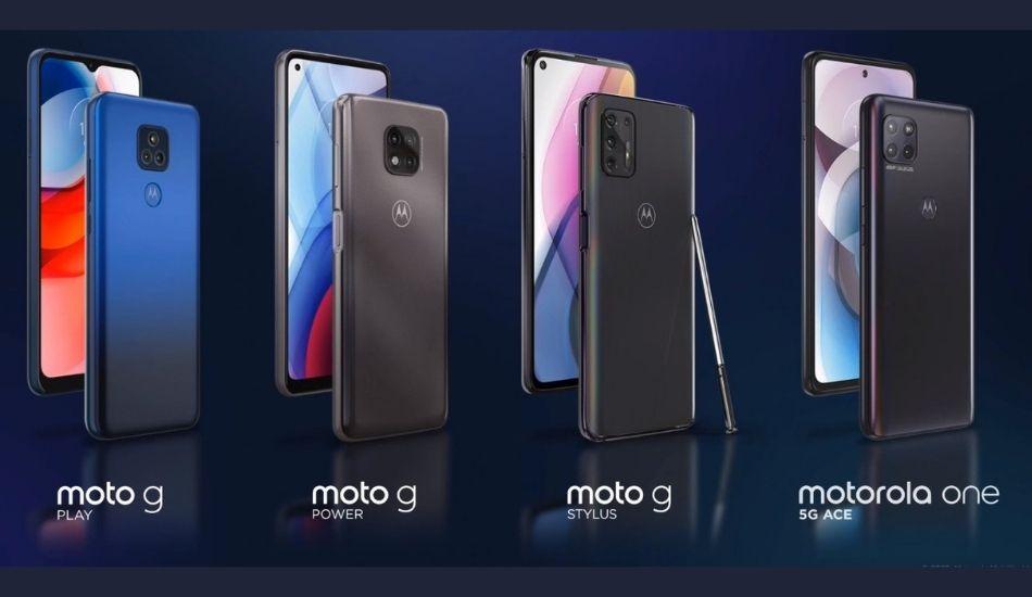 Motorola Moto G Stylus (2021), Moto G Power (2021), Moto G Play (2021) and Motorola One 5G Ace announced