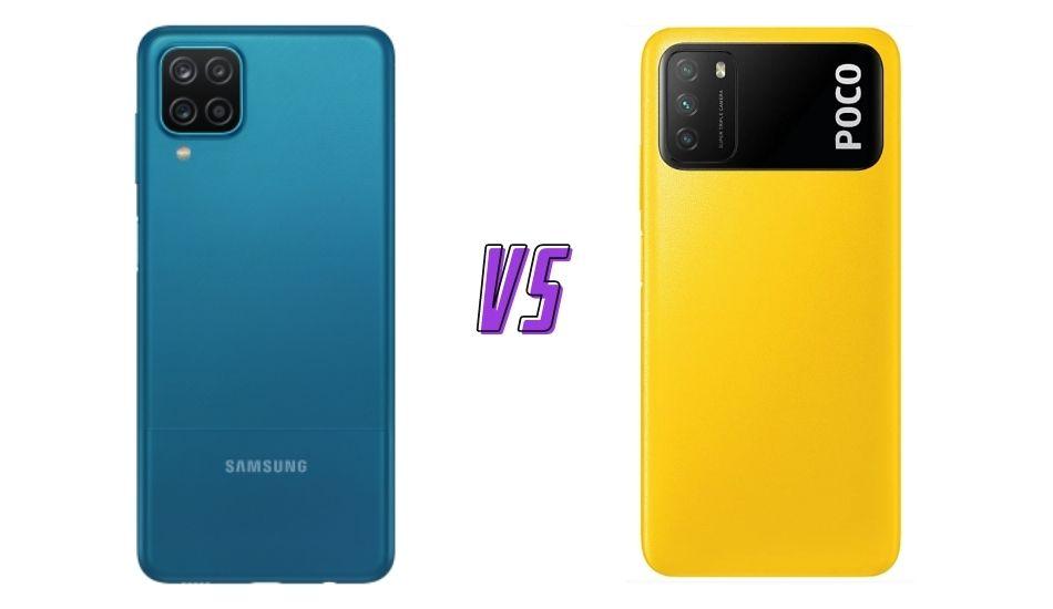 Samsung Galaxy A12 vs Poco M3
