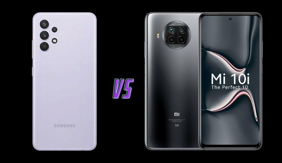 Samsung Galaxy A32 vs Mi 10i