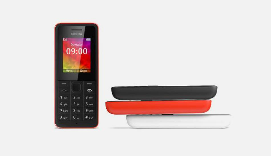 Dust, splash proof Nokia Asha 106 now available for Rs 1,399