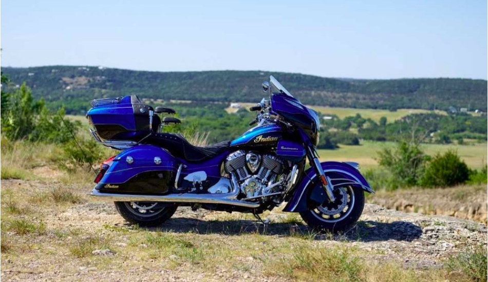 2018 Indian Roadmaster Elite launched in India at Rs 48 lakh