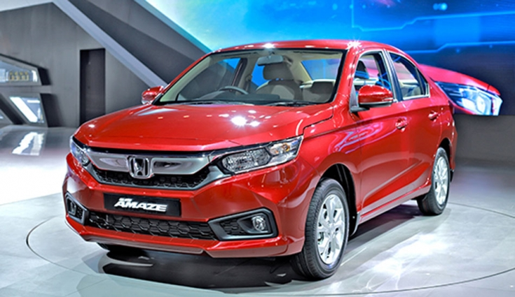 2018 Honda Amaze launched in India starting at Rs 5.59 Lakh
