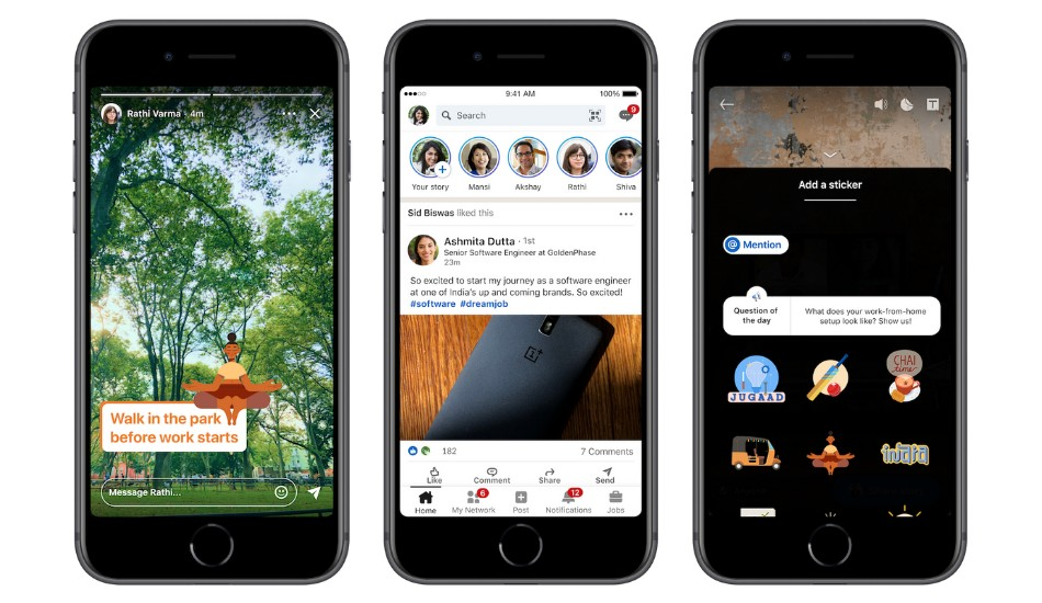 LinkedIn Stories launched in India, how to use it?
