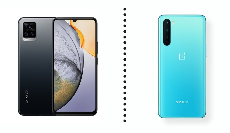 Vivo V20 vs OnePlus Nord: Who will be unsettled?