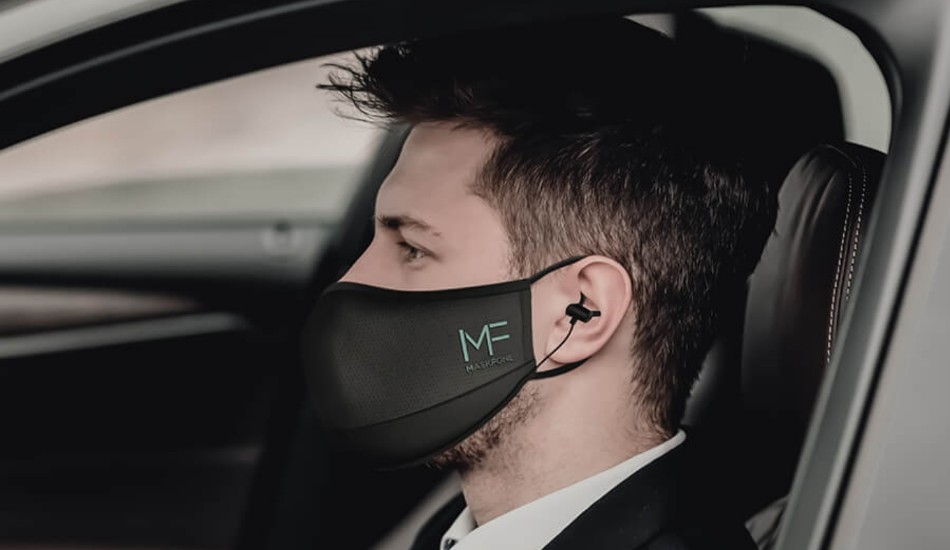 World's first Mask with Wireless Earphones launched
