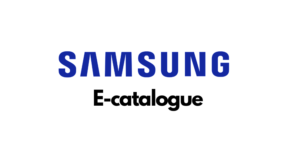 Samsung introduces e-catalogue for its products