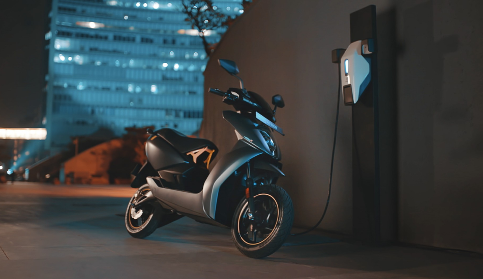Ather Energy introduces a buyback program on the Ather 450X scooter