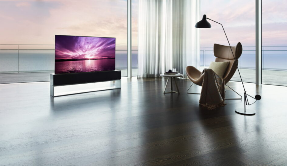 LG launches world's first rollable OLED TV at Rs 64 lakhs