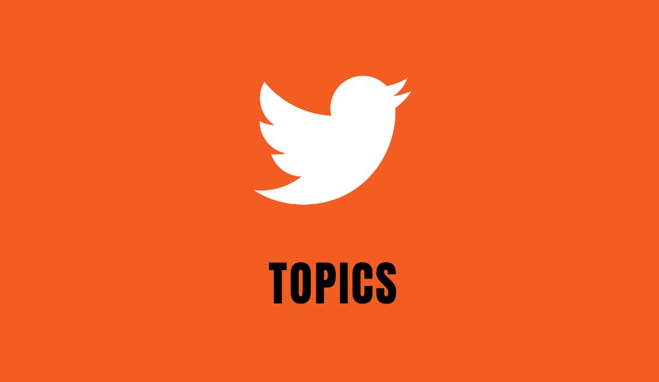 Twitter introduces 'Topics' feature in India