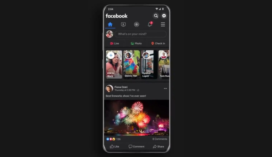 Facebook dark mode for Android, iOS users rolling out