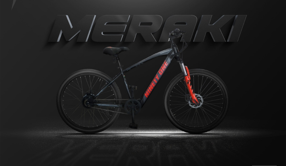 Indian Startup  launches its flagship e-bicycle - Meraki by Ninety One