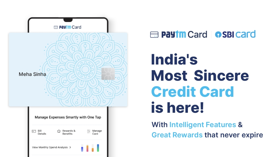 Paytm, SBI Card join forces to launch contactless Paytm SBI card