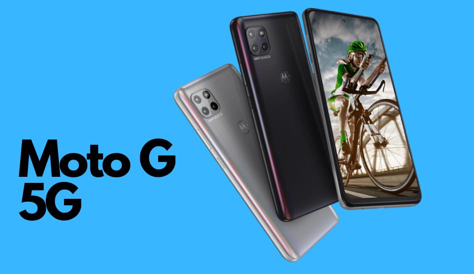 Moto G 5G releasing in India on 30th November