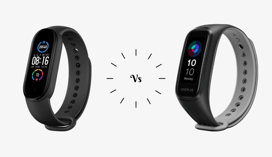OnePlus Band vs Mi Smart Band 5