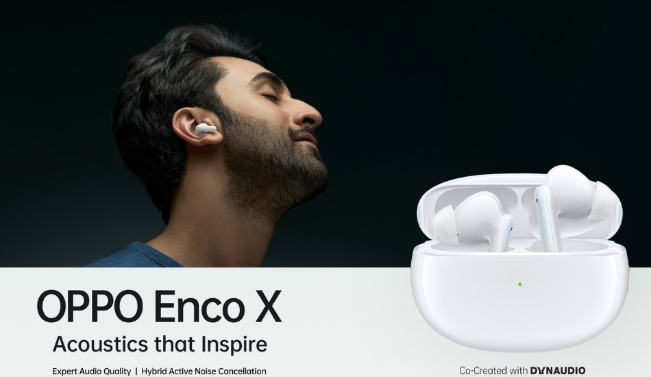 Oppo Enco X True Wireless Earbuds to launch in India on 18th January