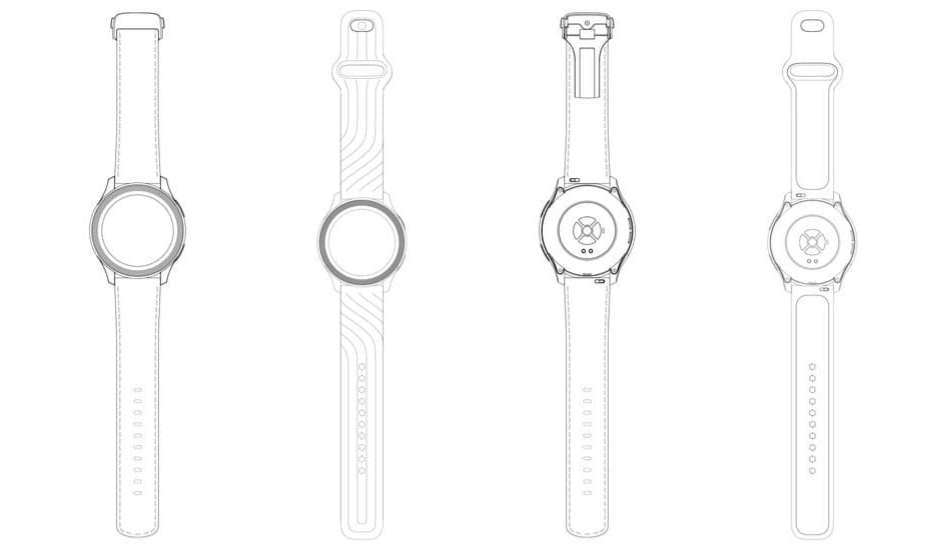 OnePlus Watch design revealed through early sketches
