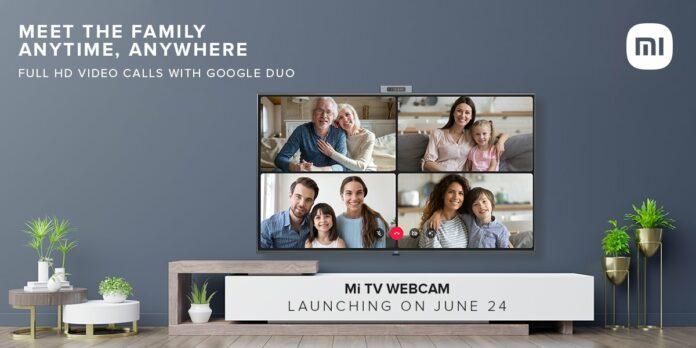 Mi TV Webcam to launch in India on June 24