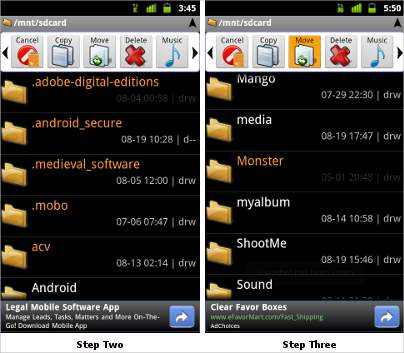 How to manage files & folders on Android smartphones