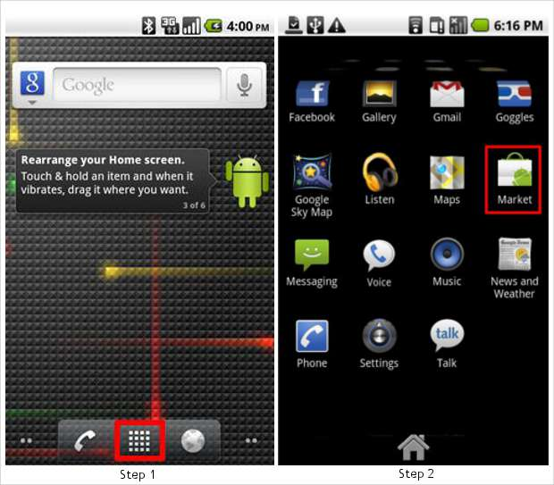How to install apps on Android