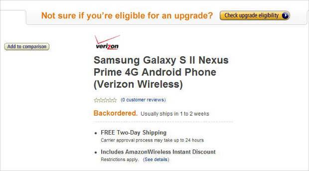 Google Nexus Prime arrival to be delayed?