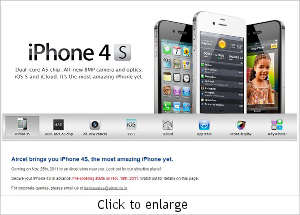 Aircel to open prebooking for iPhone 4S on Nov 18