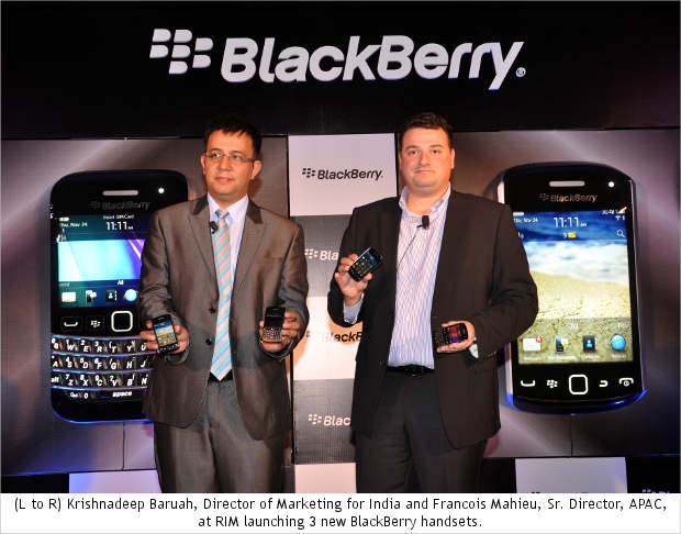 BlackBerry Bold 9790, Curve 9380, Curve 9350 coming to India on Dec 1