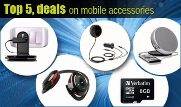 Top 5 mobile accessories - June