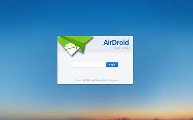 Now control Android device via internet with AirDroid