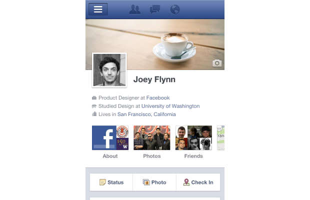 Facebook brings Timeline feature to iOS