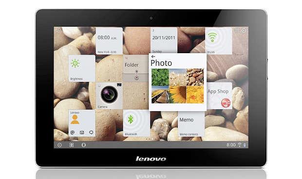 CES 2012: Lenovo shows IdeaPad S2, IdeaPad K2 tablets