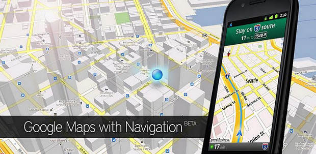 Updated Google Maps comes to Android
