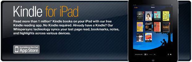 Amazon brings Kindle store to iPad