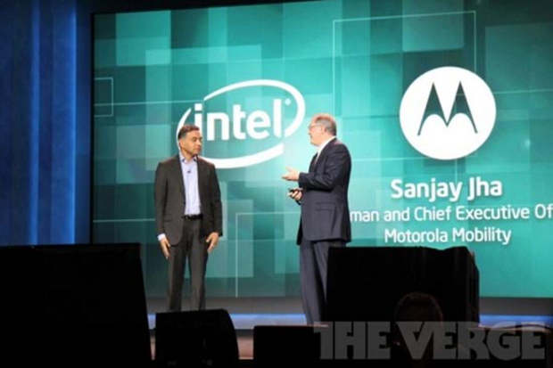 CES: Motorola announces Intel powered Android phone