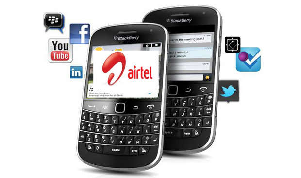 Airtel launches cheapest BlackBerry plan for just Rs 129