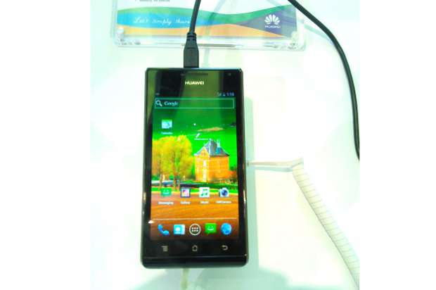 First Look: Huawei Ascend P1 smartphone