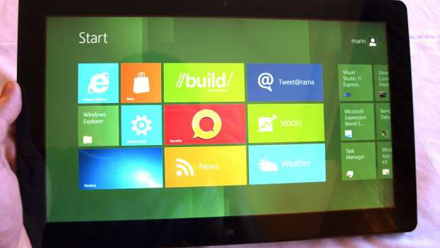 Microsoft Windows 8 tablet hardware requirements