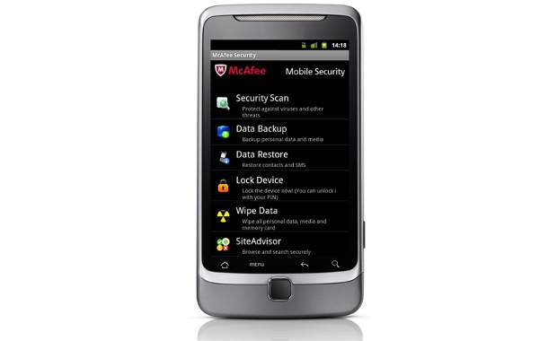 McAfee launches new mobile security software