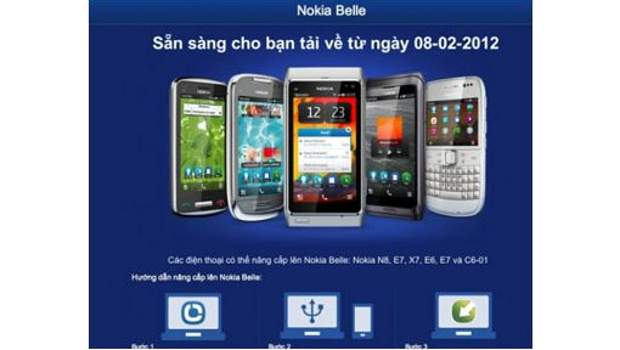Nokia Belle update for Symbian 3 devices on Feb 8