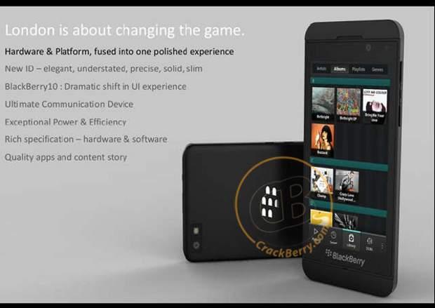 BlackBerry London image surface online