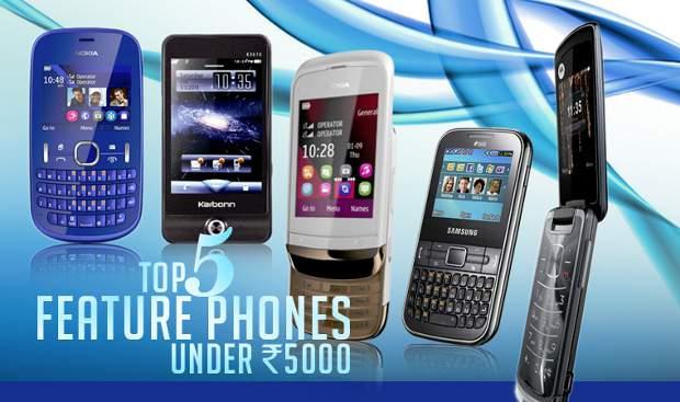Top 5 feature phones below Rs 5,000